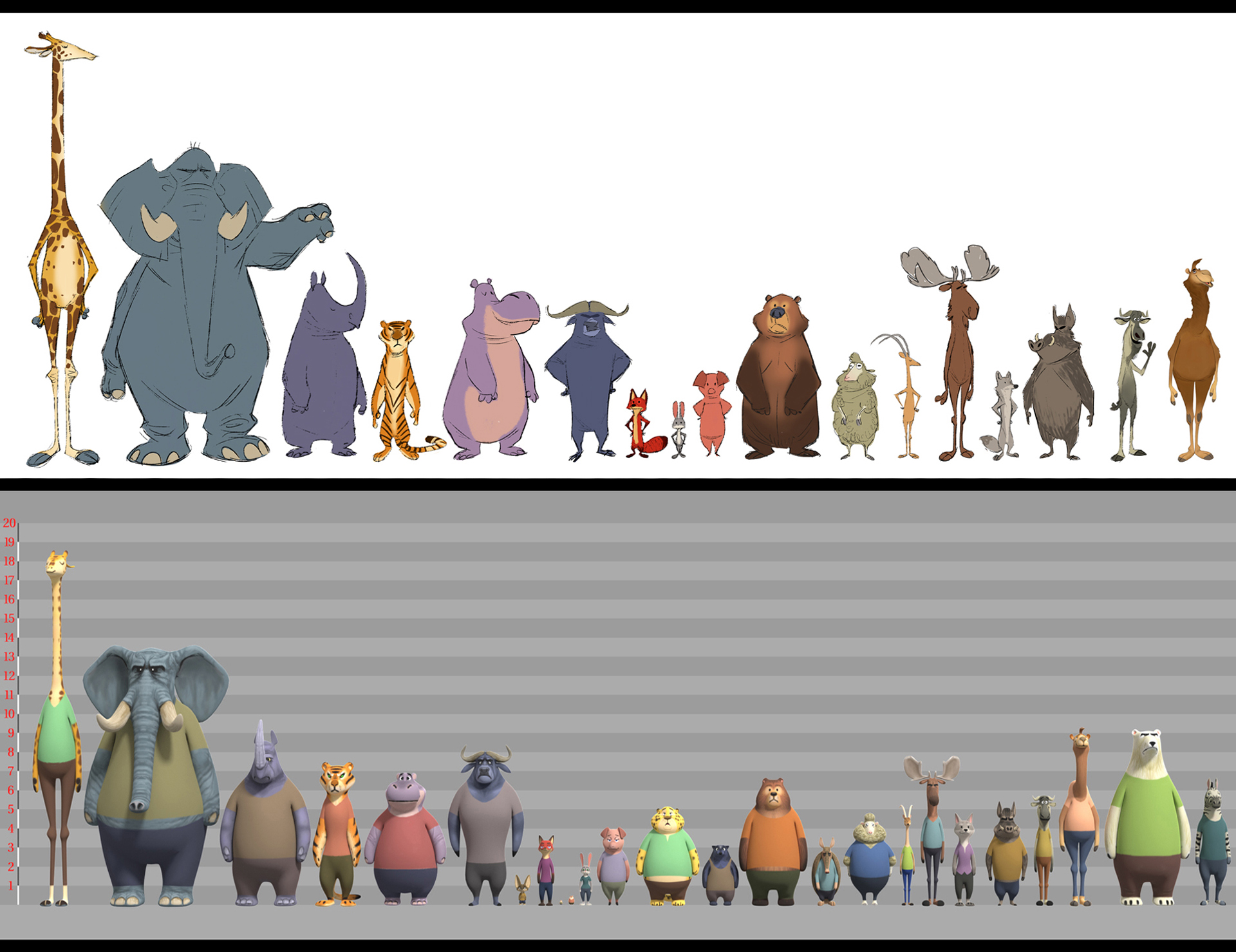 List of Species from Zootopia