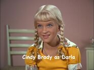 10) Cindy Brady as Darla