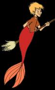 Arthur Pendragon as a merman
