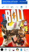 Bolt (NR1 Style) Poster