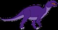 Carl Spacebot edmontosaurus form dinosaur in thespacebotsadventuresseries