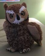 Hermes the Great Horned Owl