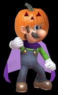 Luigi's Pumpkin Costume