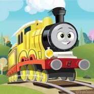 Molly Season 25 fantart by TrainToons