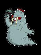 Nigel the walrus