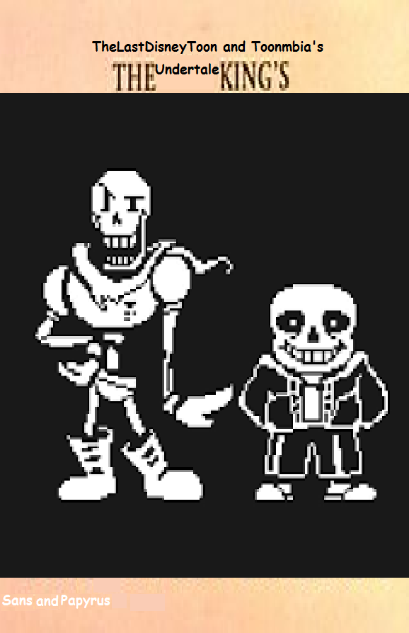 Sans and Papyrus (TheLastDisneyToon and Toonmbia Style)