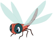 Seth Spacebot dragonfly form abugslife in thespacebotsadventuresseries