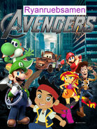 The Avengers (2012) (Ryanruebsamen Version) Poster