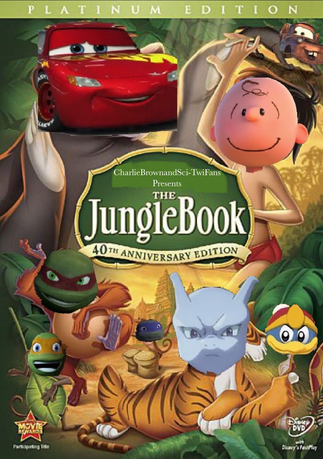 The Jungle Book (1967; CharlieBrownandSci-TwiFans Style)