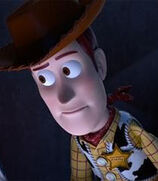 Woody in Toy Story of Terror