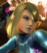 Zero Suit Samus in Super Smash Bros. for Wii U and 3DS