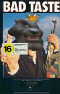 Bad Taste (Disney and Sega Style) 1988 VHS Cover NZ