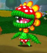 Petey Piranha in Mario & Luigi- Paper Jam