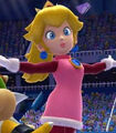 Princess Peach in Mario and Sonic at the Sochi 2014 Olympic Winter Games