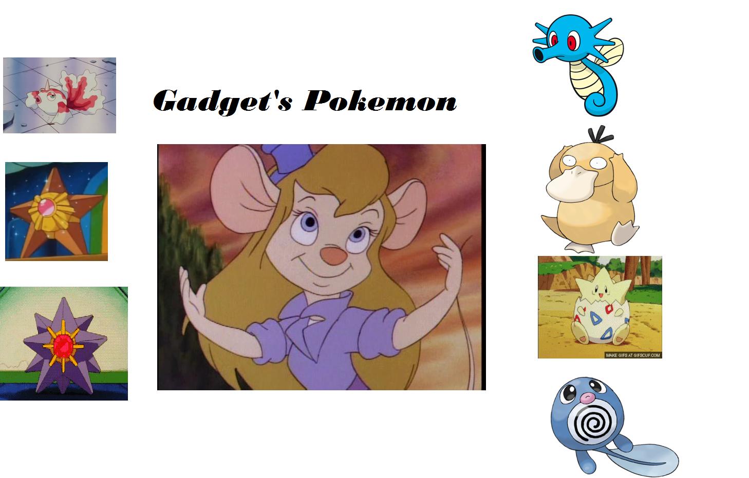 Gadget's Pokemon