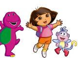 Barney, Dora & Friends