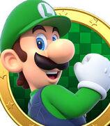 Luigi in Mario Party Star Rush