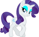 Mlp fim new rarity happy vector by luckreza8-db0o266