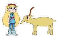 Star meets Saiga