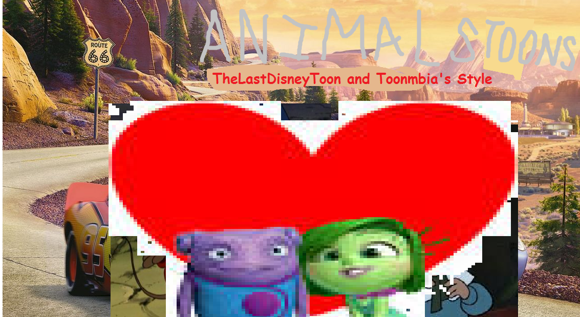 Animals Toons (Cars Toons) (TheLastDisneyToon and Toonmbia Style)