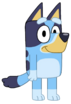Bluey stock pose