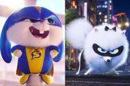Captain Snowball and Super Gidget