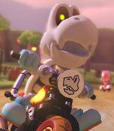 Dry Bones in Mario Kart 8 Deluxe