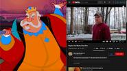 King Hubert vs Psycho Dad