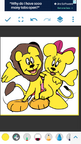 Mickey and Minnie Mouse as Lions