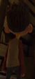 Norman's backside