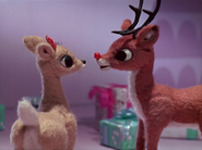 Rudolph and clarice are love couple