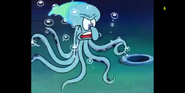 Squidward as Octopus