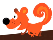 Squirrel hickory dickory dock super simple songs