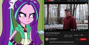 Aria Blaze vs Psycho Dad