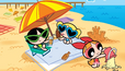 Blossom, Bubbles and Buttercup's Beach Time