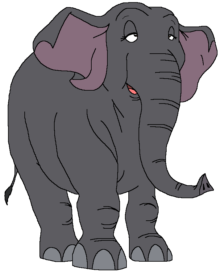 Eva the African Forest Elephant