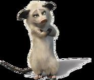 Heather the Possum Transparent