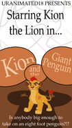Kion and the giant penguin poster by ianandart back up dd2iu8j-pre