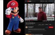 Mario vs Psycho Dad