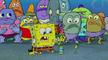 Spongebob bubbles plankton