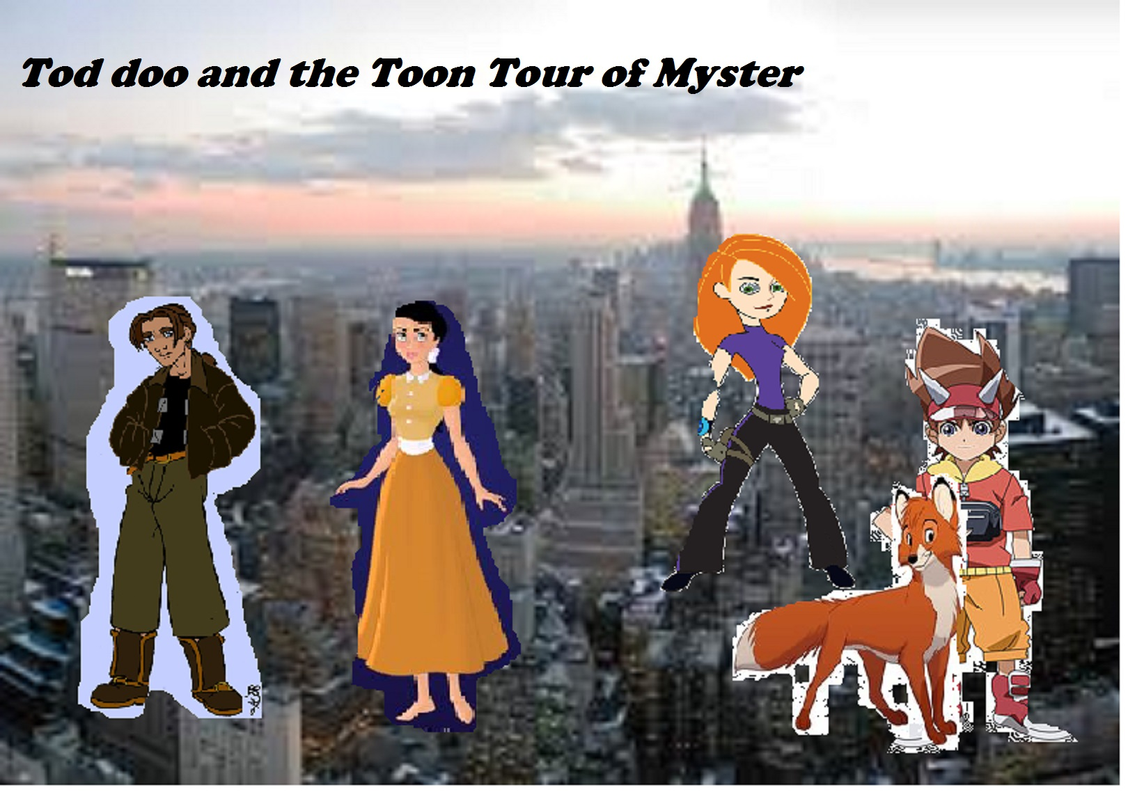 Tod Doo and the Toon Tour of Mysteries