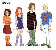 1990s Mystery Gang