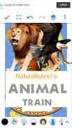 Animal Train (NR1) Poster