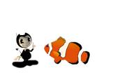 Bendy Meets Clown Fish