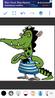 Darwin Thornberry as nile crocodile
