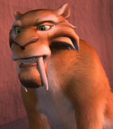 Diego in Ice Age