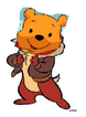 Pooh as chip