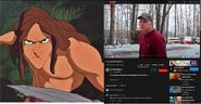 Tarzan vs Psycho Dad