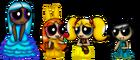 The Disney Princess Puff Girls