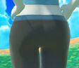 Wii Fit Trainer (Female)'s Butt